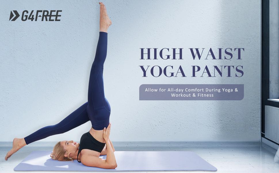 Leggings Damen Hohe Taille Sporthose Fitness Leggings