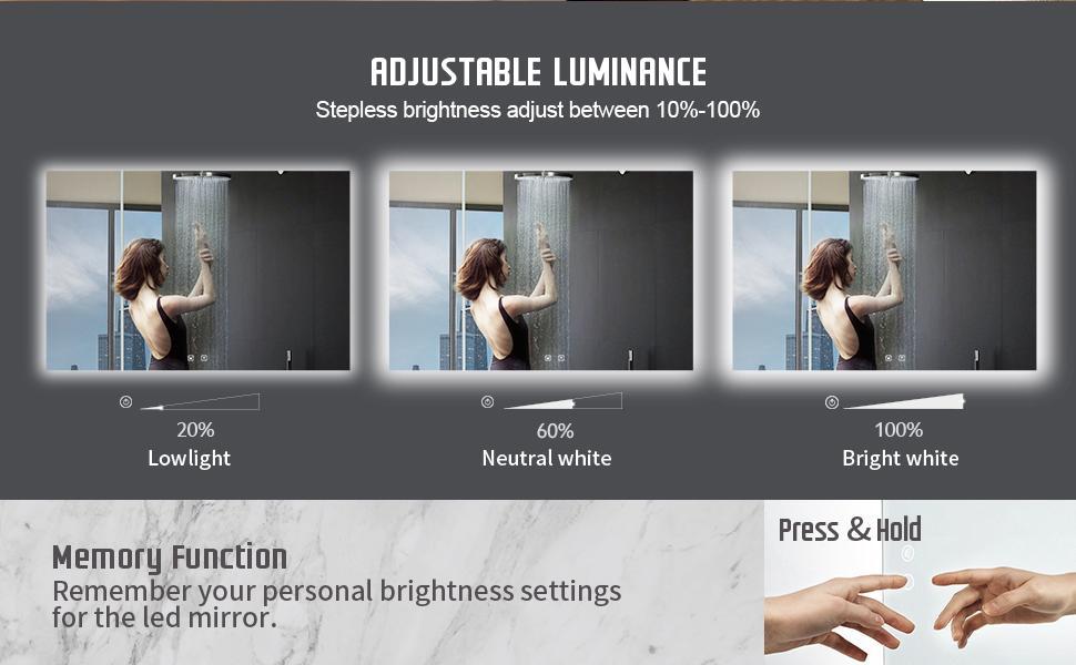 Adjustable Luminance