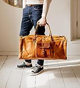 Berliner Bags Weekender New York XL Geräumige Leder Sporttasche Freizeittasche Damen Herren Vinta...