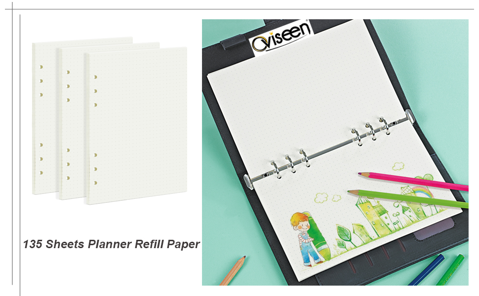 A5 Dotted refill Paper