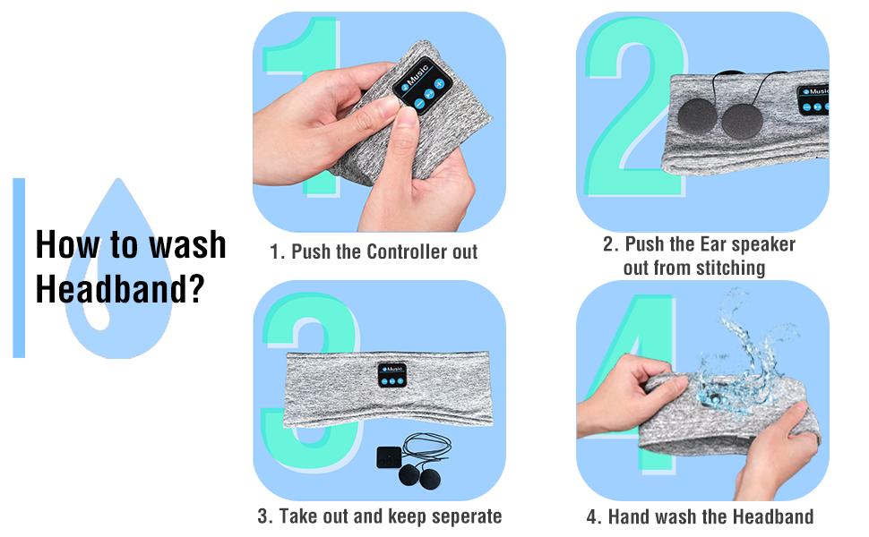 How to Wash Sleep Earphones