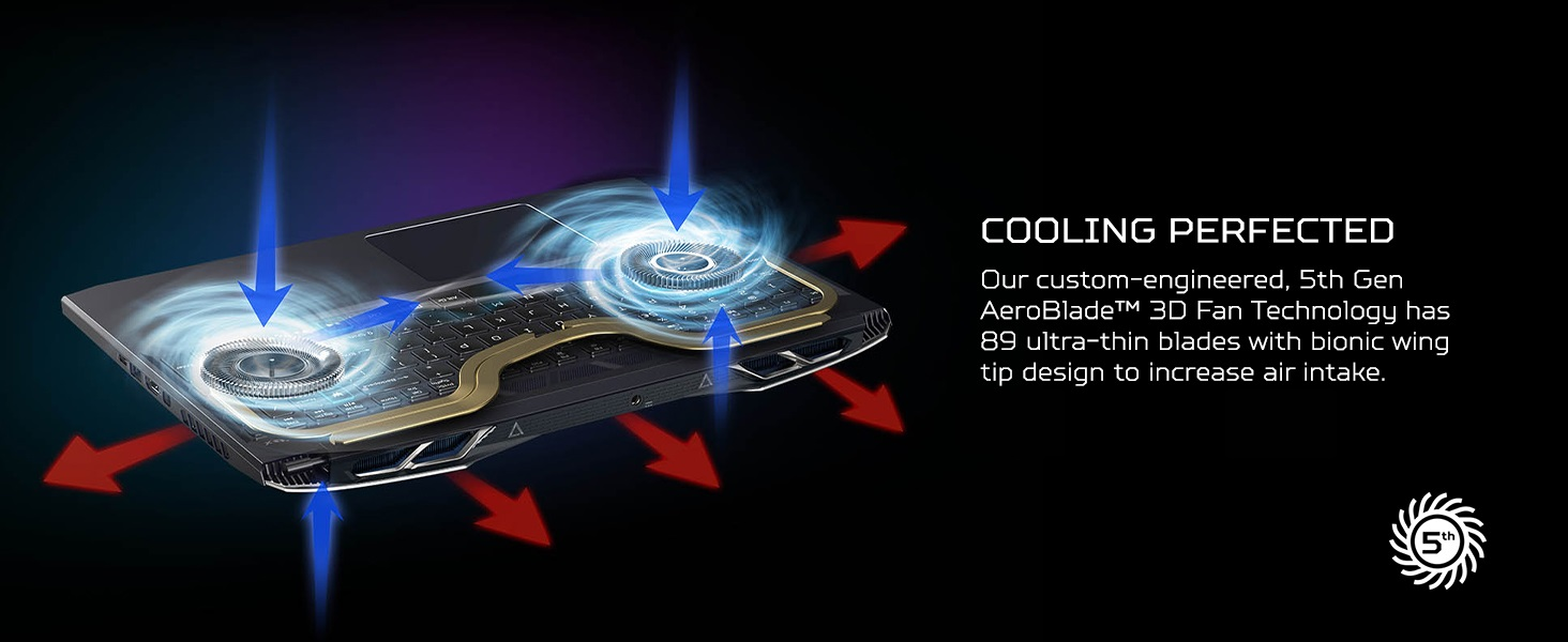cooling cool fan exhaust port vent venting coolboost dual two fans