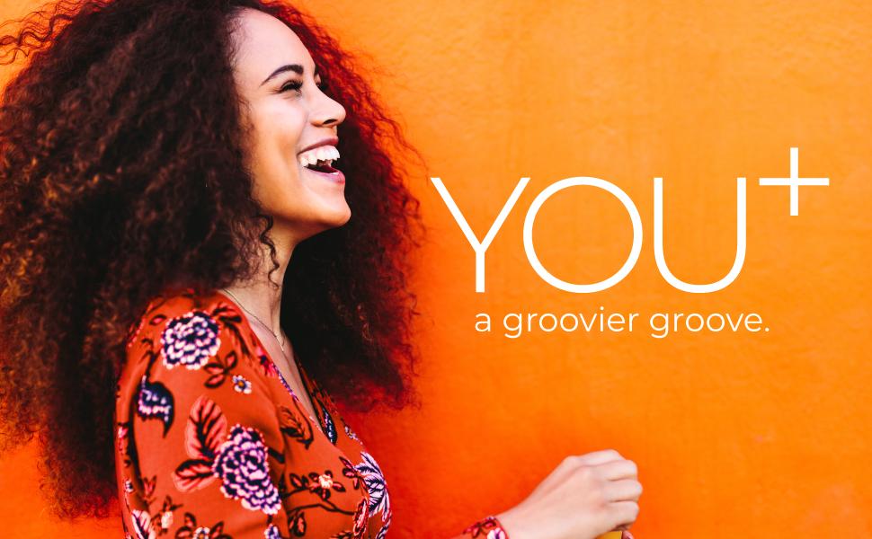 Woman on Groovy Orange