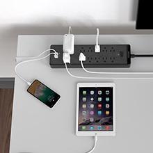 cord extension flat plug