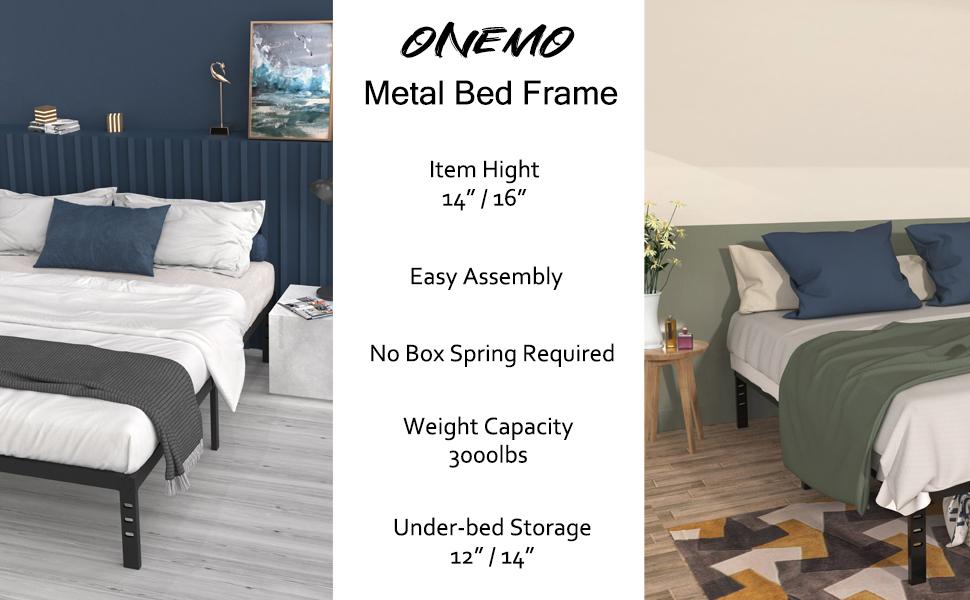 full/queen/king/cal king bed frame