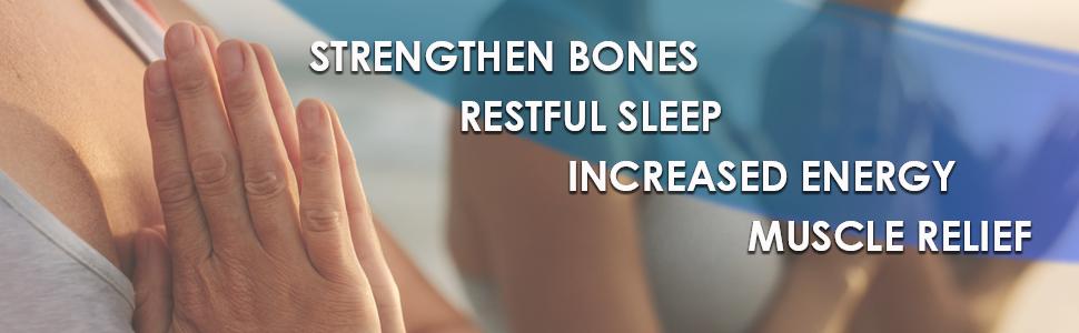magnesium complex magnesium glycinate muscle relax sleep calm vegetable capsule