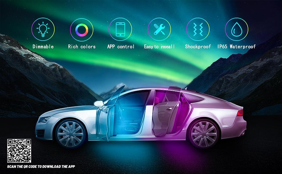 car interior led lights usb led light strip car car led strip lights interior led car strip lights