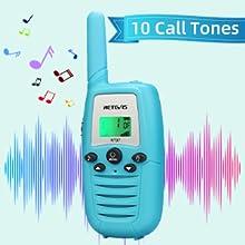 10 call tones walkie talkies