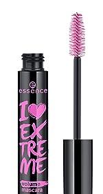 I love extreme volume mascara cosmetics makeup essence volumizing bold false lashes cruelty free