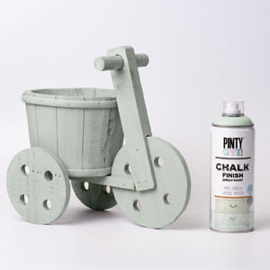 Pintyplus Chalk Finish Spray Paint Mint Green