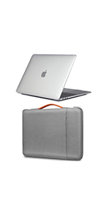 MacBook Air 13 Inch Hard Shell Case + Sleeve Bag