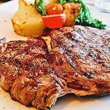 grill steak smokless smoked meat
