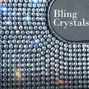 Spakling Bling Crystals Car Visor Tissue/Mask Holder Rhinestone