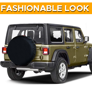 EcoNour Single Tire Cover expands the life time service of your car