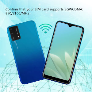 Confirm that your SIM card only supports 3GWCDMA: 850/2100/MHz
