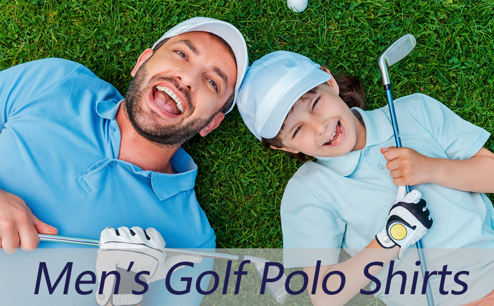 mens golf polo shirts for quick dry outdoor