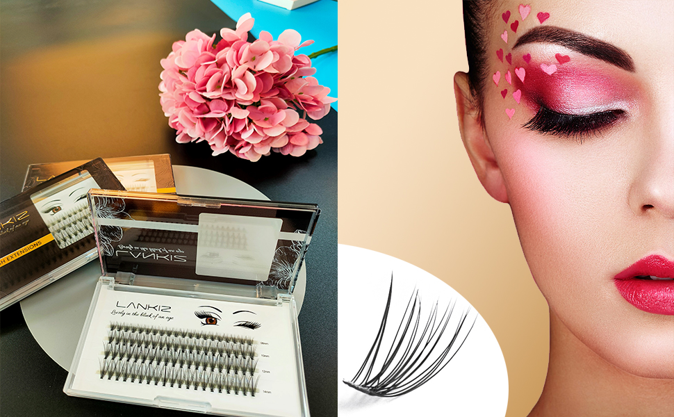 individual lashes for diy eyelash extension