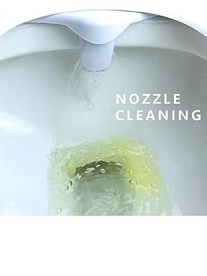 self cleaning nozzle bidet toilet seat