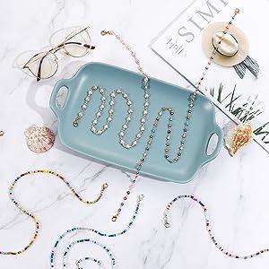 eyeglass chain for women