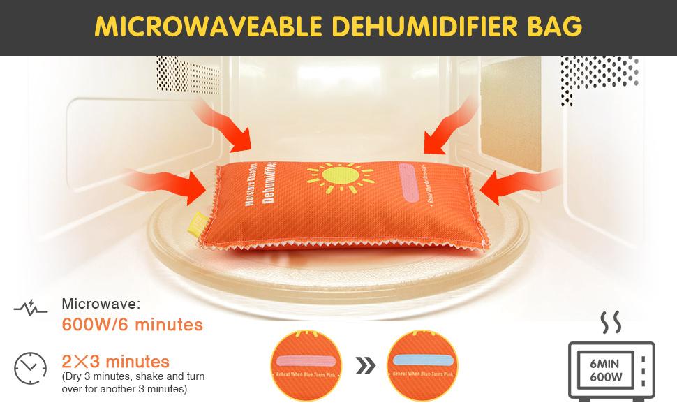 MICROWAVEABLE HUMIDIFIER BAG