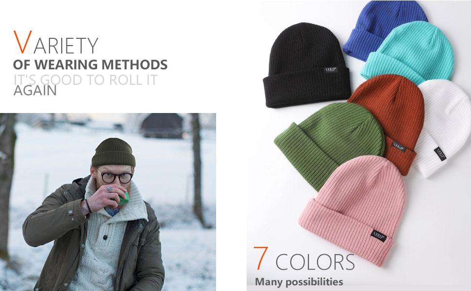 solid color skull cap