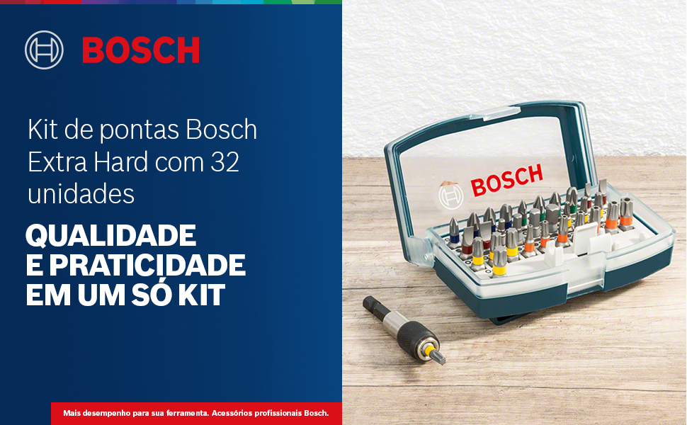 Kit de pontas Bosch Extra Hard