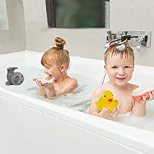Squeeze made sound little yellow duck tub toys