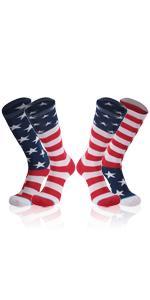 American Flag Sock
