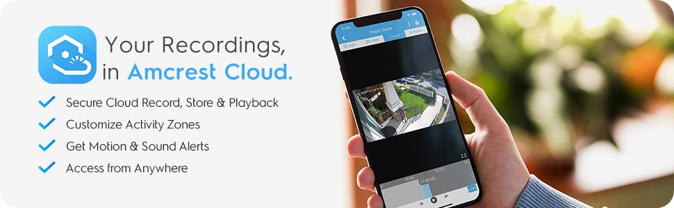 Amcrest Cloud Backup