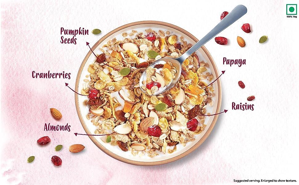 muesli,museli,kellogg,kellogs,cereals,breakfast cereals,healthy snacks