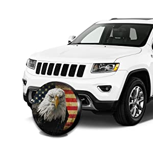 Spare Tire Cover for Jeep Wrangler RV SUV Camper Travel Trailer