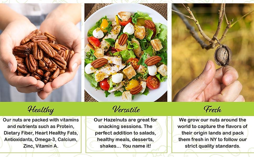 Healthy, Versatile and Fresh snacks