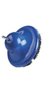 433 502 M Blue 160mm Diameter Wheel Hub Grinder