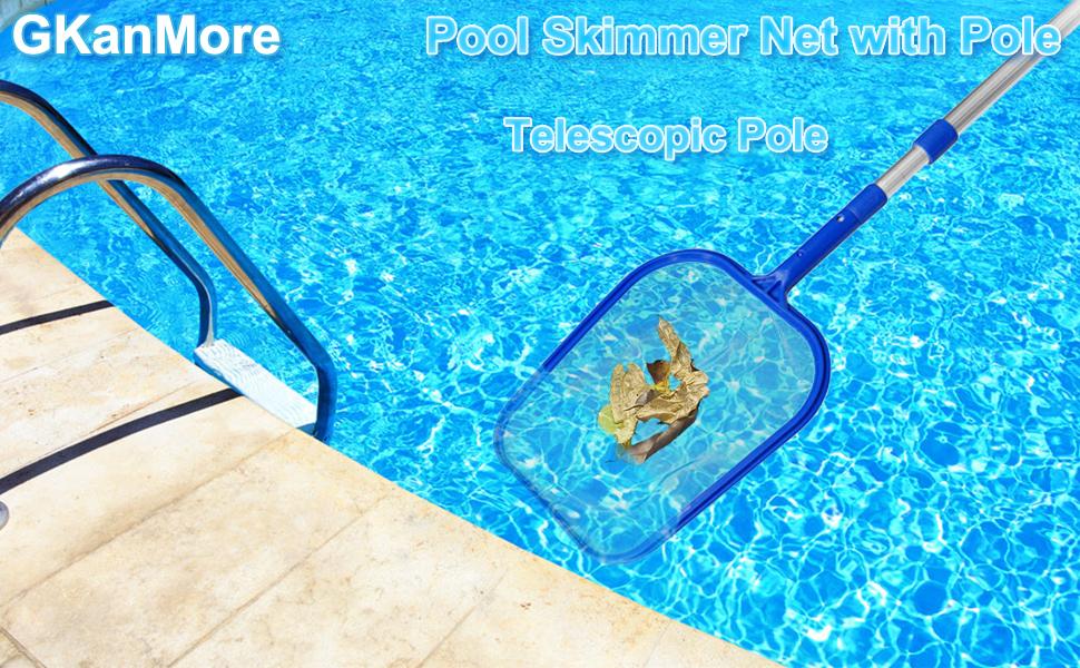 pool net with pole