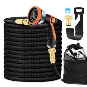 package included:  Garden Hose , Spray Gun , Brass Fitting, Hanger, Storage Bag, Manual, Water Tape