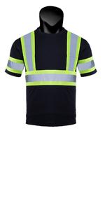 Hi vis shirts for men black
