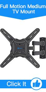 Full Motion Medium TV Mount