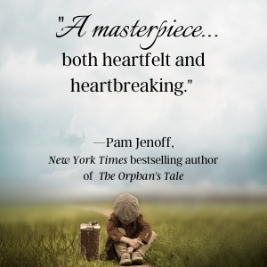 Praise from Pam Jenoff, NYT bestselling author of The Orphan's Tale