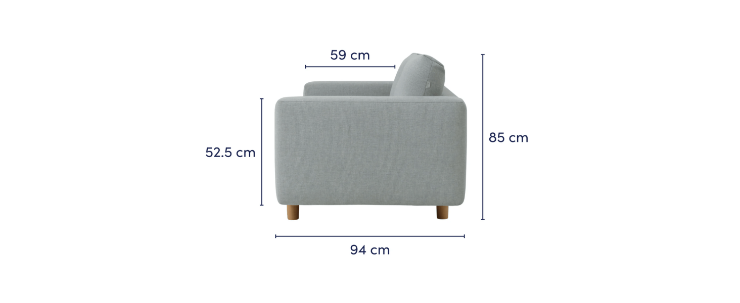 convertible foam sofa
