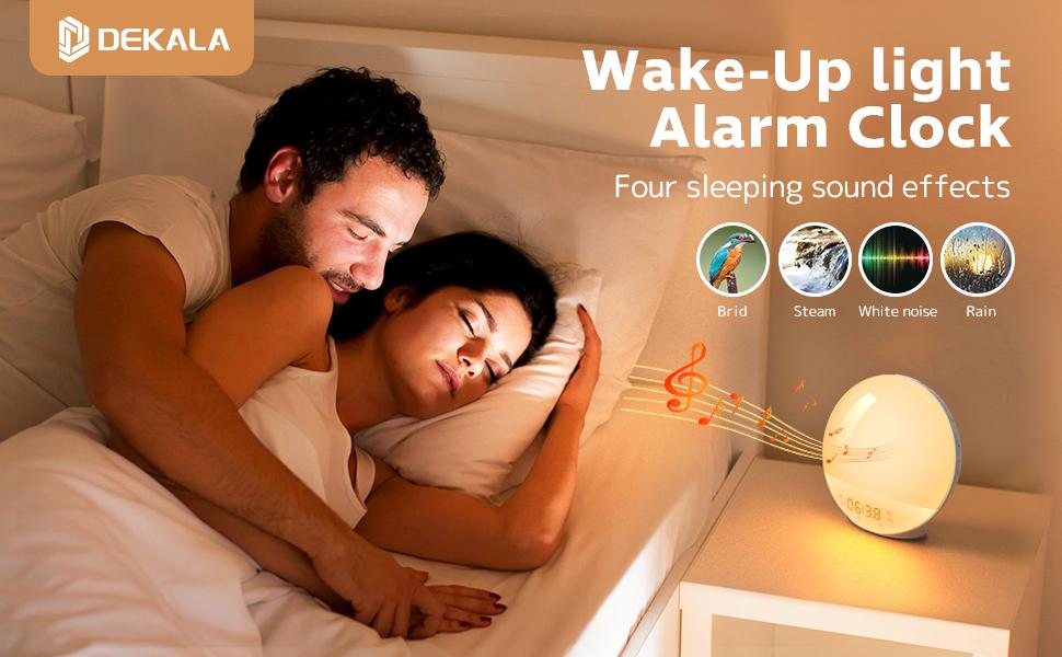 Dekala sunrise alarm clock Your sleeping assistance