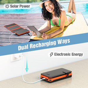 sloar power bank for iphone
