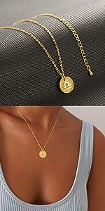 Libra sign necklace