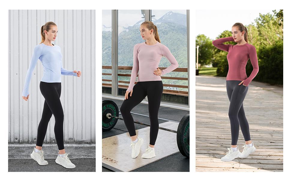 workout yoga running shirt