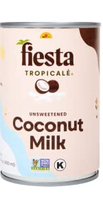 Fiesta Tropicale Coconut Milk Canned Unsweetened