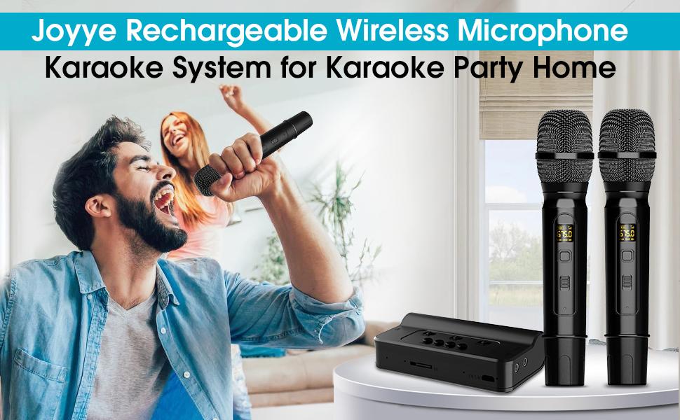 Portable Karaoke Microphone Mixer System Set