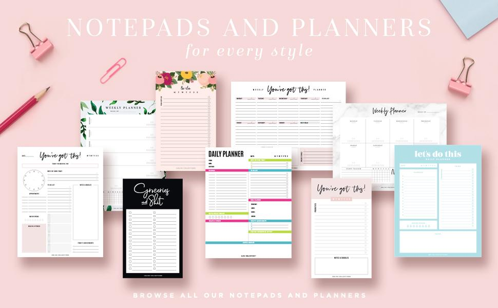 Bliss Collections Planner Collection Collage
