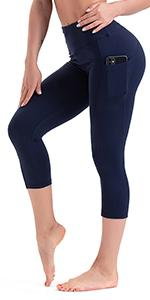 capris leggings with pockets