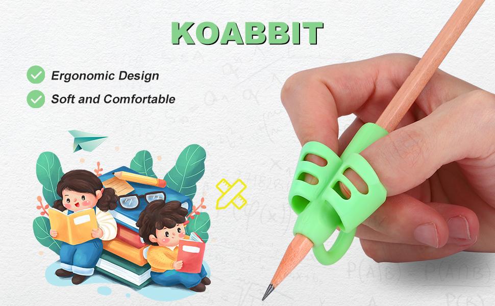 pencil grips by Koabbit