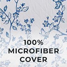 100% microfiber cover