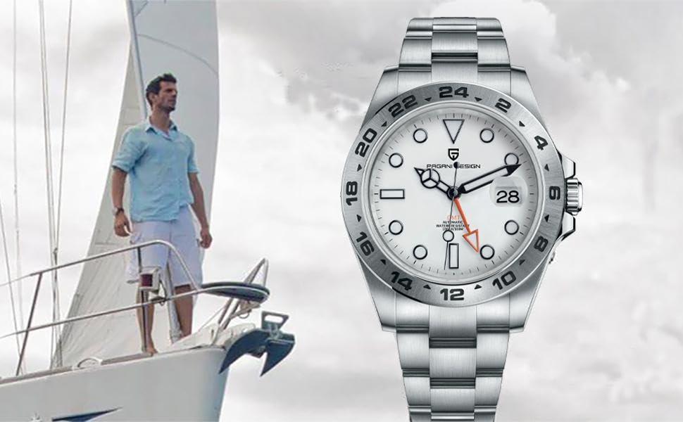 Pagani Design GMT Men's watches
